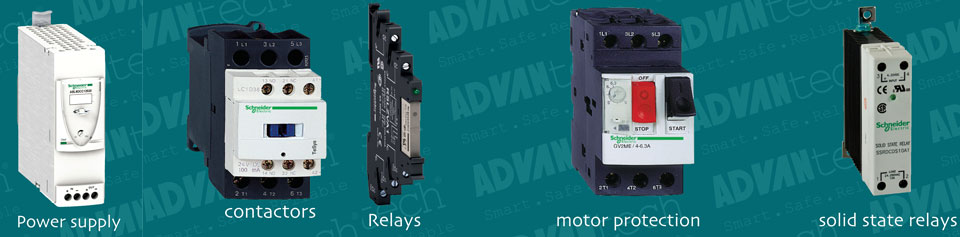 Motor Protection Devices, Power Supplies, & Relays…